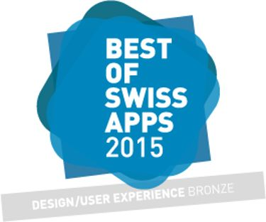 MyMedela won the Best of Swiss apps award