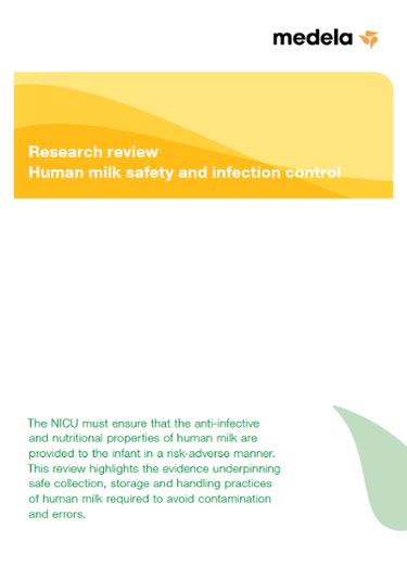 "Research review ""human safety and infection control"""