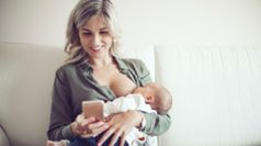 MyMedela breastfeeding app for mums