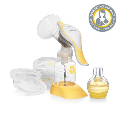 Harmony Pump And Feed Set Manual Breast Pump Medela