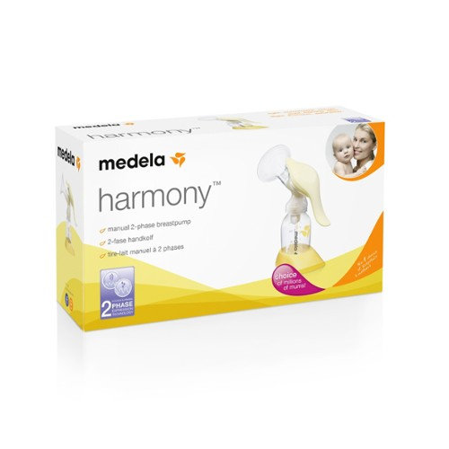 Medela Harmony single manual breast pump is designed for mums who mostly  breastfeed and is great for travel or as a backup to your electric pump. b2ef91e338f4f
