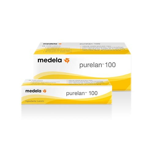Medela PureLan 100 pure lanolin nipple cream helps soothe sensitive or dry  nipples and helps form an additional protective barrier over sore or  irritated ...