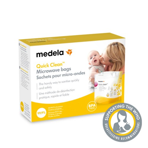 Medela S Microwave Bags Are The Handy Way To Sanitise Your Pumping Equipment And Tfeeding Accessories Quickly Safely