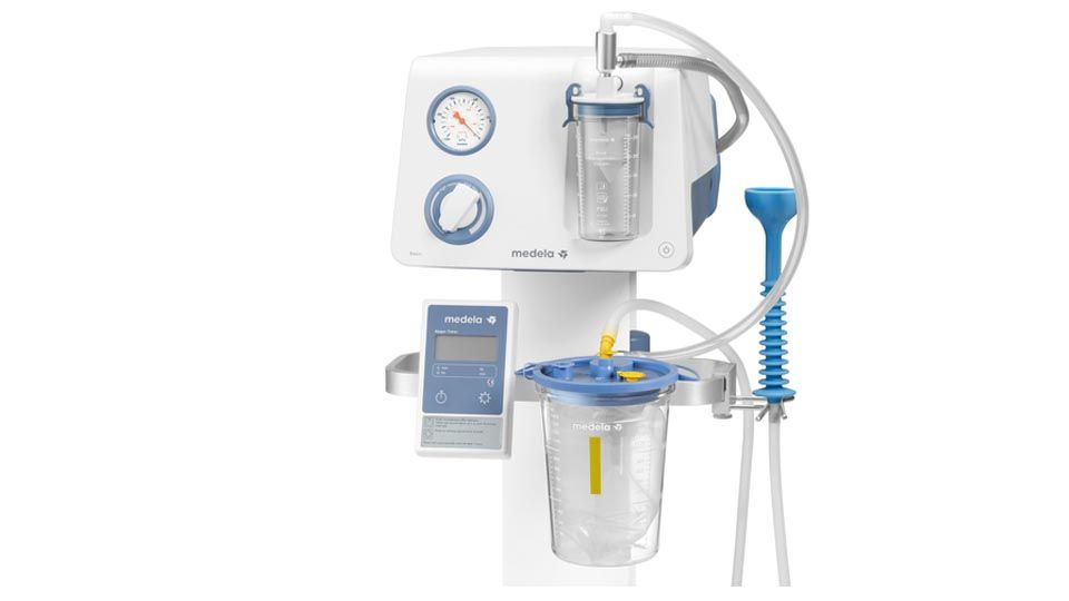basic suction pump vacuum assisted delivery system medela