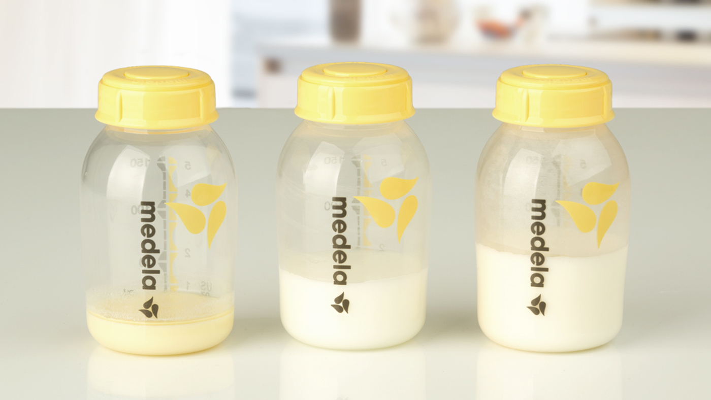 What does breast milk look like